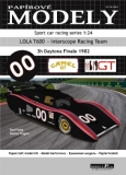 Lola T600 - Interscope Racing Team