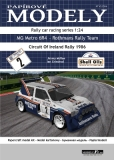 MG Metro 6R4 - Rothmans Rally Team