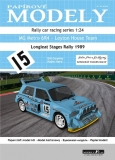 MG Metro 6R4 - Leyton House Team