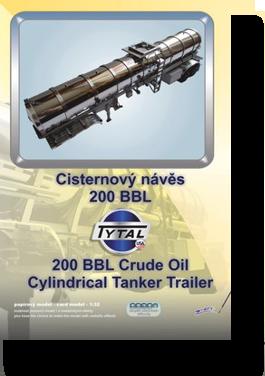 Automobily nákladní | Cisternový návěs Tytal 200 BBL | MPG-modely